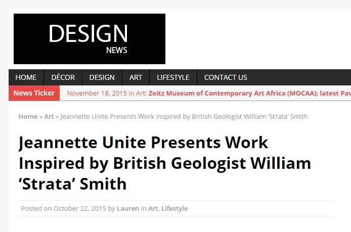 2015 Design News William Strata Smith Complicit Geographies